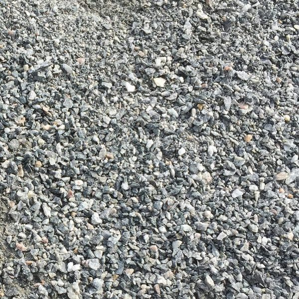 "3/4"" Blue/Gray Crushed Granite with Binder (road base coarse)"